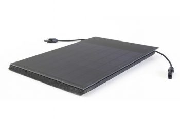 A BiSolar Solar Roof Tile by Roof Tiles Technology Ltd